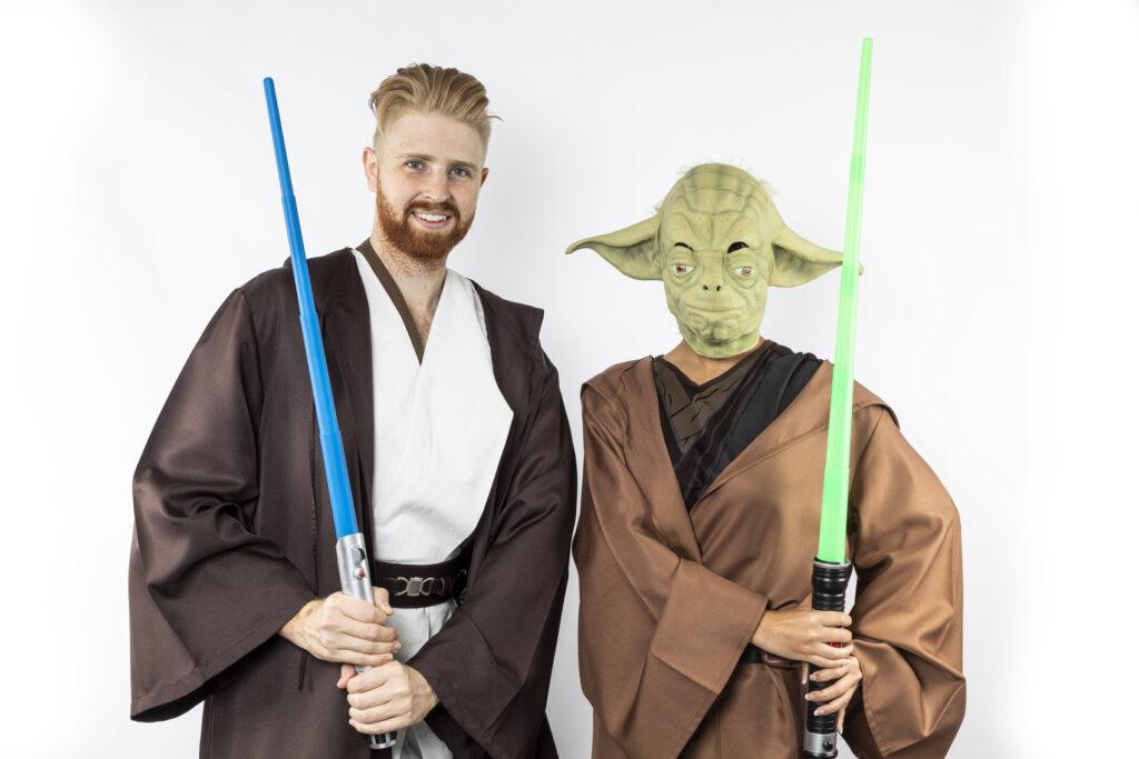 Obi-Wan Kenobi and Yoda
