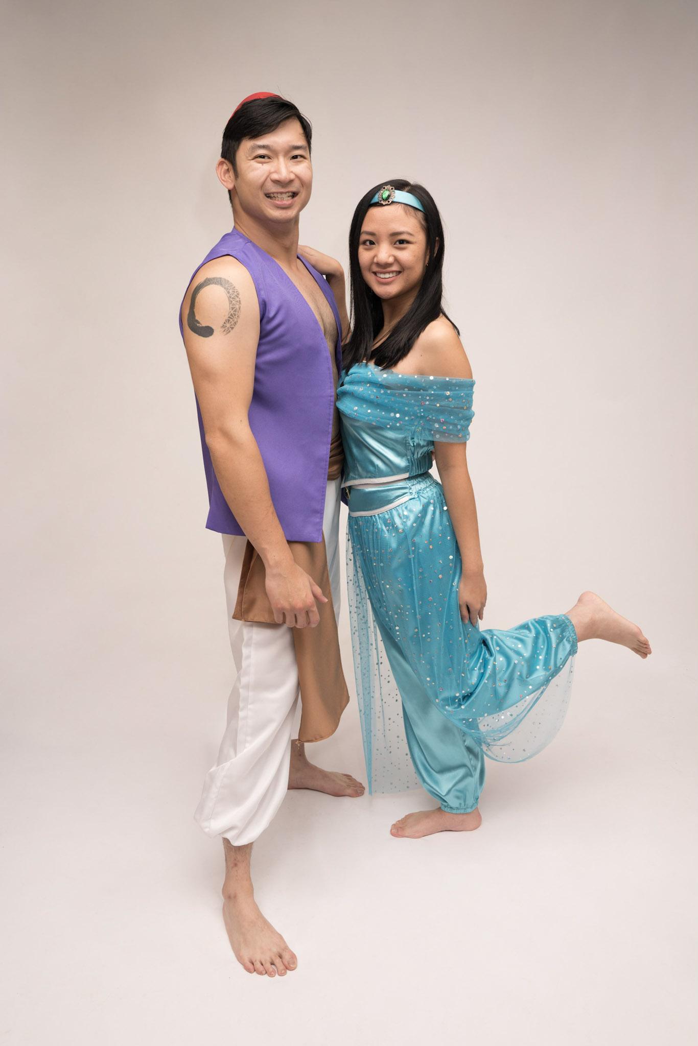 Disneys Aladdin and Jasmine